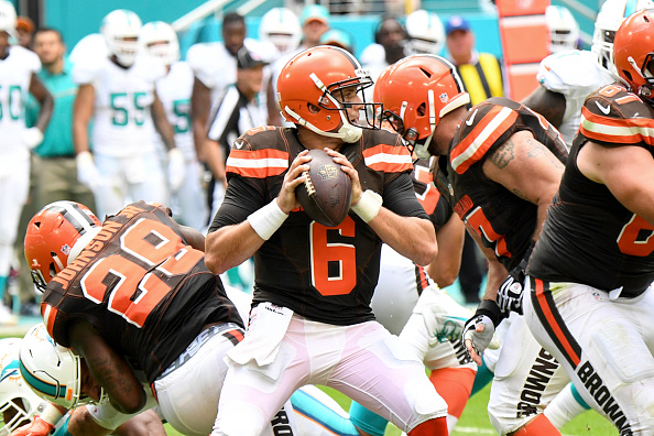 Cleveland Browns v Miami Dollphins