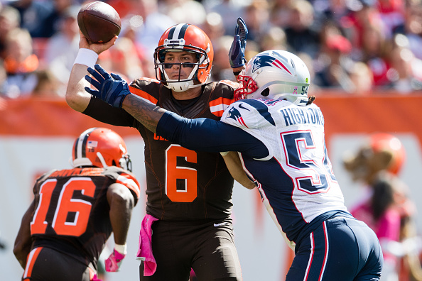 New England Patriots v Cleveland Browns