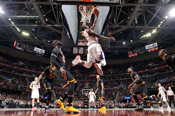 LA Clippers v Cleveland Cavaliers