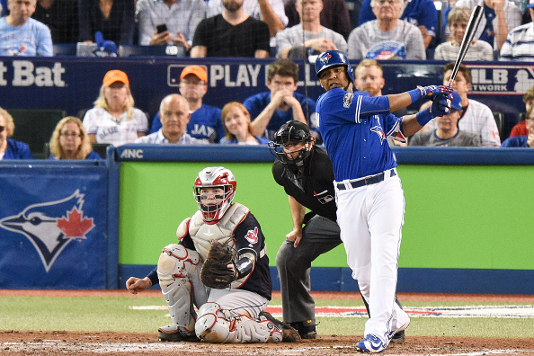 MLB: OCT 18 ALCS Game 4 - Indians at Blue Jays